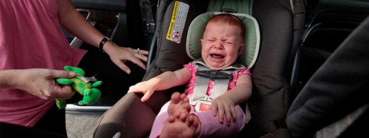 viajar con el bebe en coche