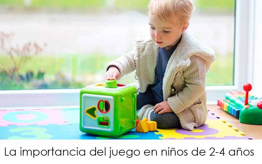el importancia del juego en el desarrollo del niño