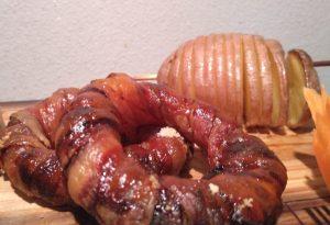 Anelli di cipolla al bacon onion rings