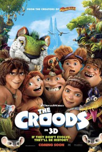 The Croods International Poster