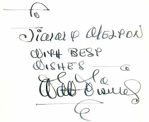 Walt Disneys Signature