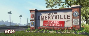 Emeryville in Pixars Cars