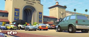 The Pizza Truck Cameo in Cars