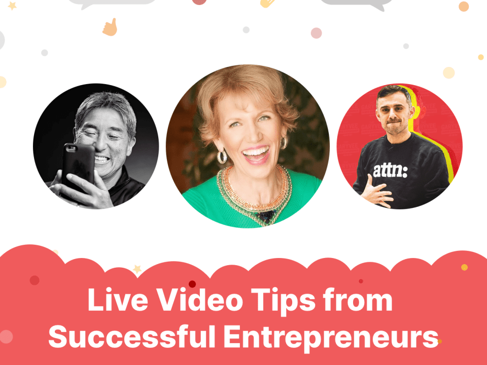 Live Video Tips from Successful Entrepreneurs