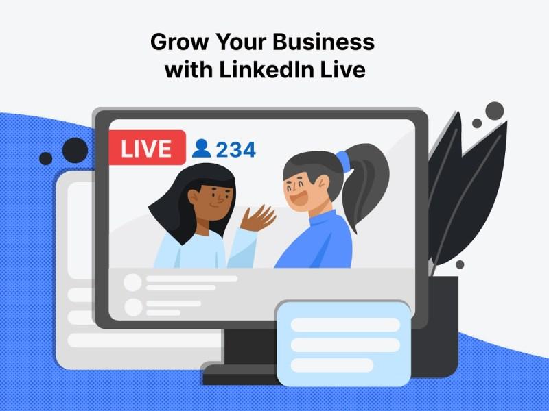 Grow Business LinkedIn Live