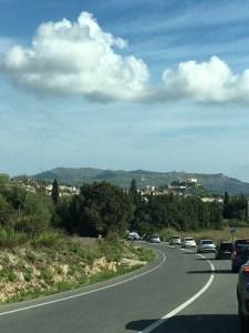 Straße nach #CalaRatjada, zur #CalaAgulla