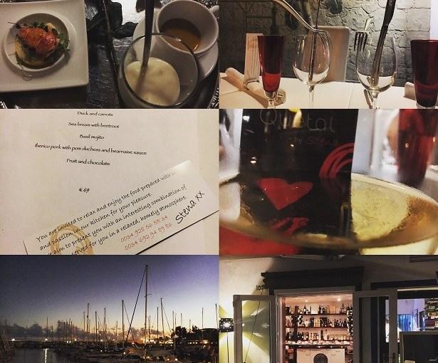 Ein wohliger Abend am Hafen von Puerto de Mogan