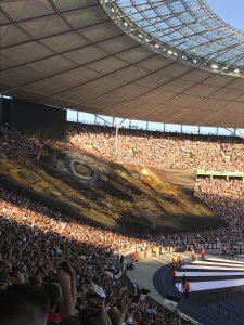 Die Choreographie von Eintracht Frankfurt