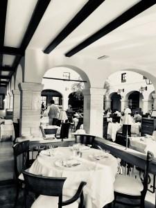 Cabrio-Restaurant des Hotels Adler Thermae