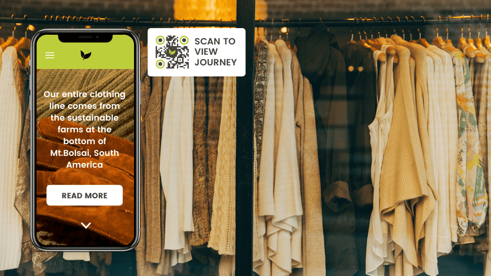 print qr codes on clothing labels