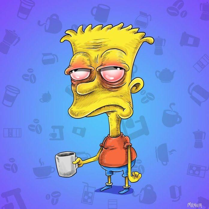 Bart Simpson Coffee