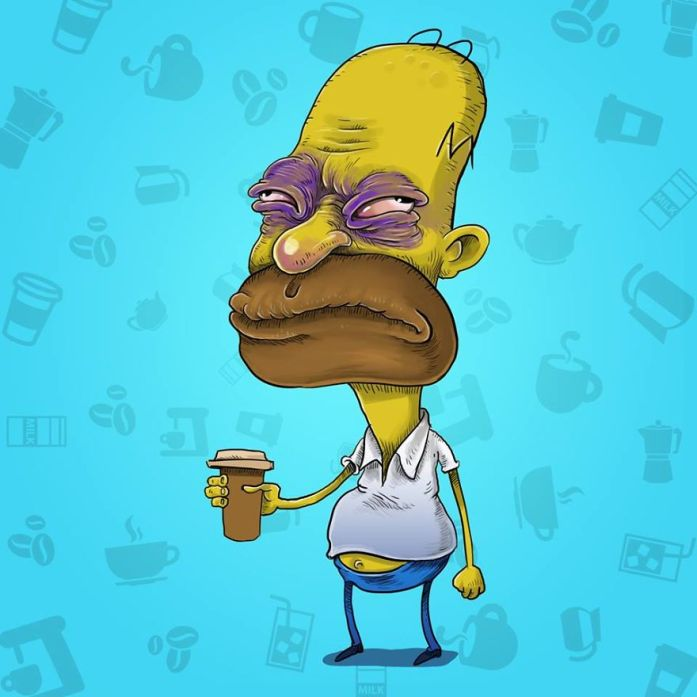 Homer Simpson Coffee