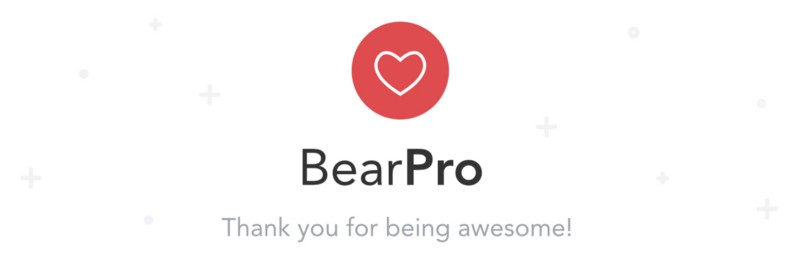 Bear Pro is a great big bear hug for your notes, code, and prose