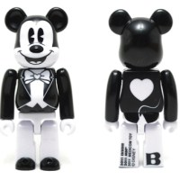 BABBI 2011 Valentine MICKEY MOUSE ベアブリック(BE@RBRICK)