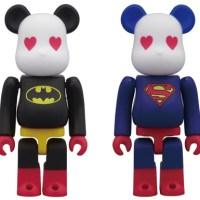 SUPERMAN & BATMAN ボクサーパンツ 2種 ベアブリック(BE@RBRICK)[発売]