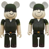 DRX ARMY beetle bailey 100% 400% ベアブリック(BE@RBRICK)[情報]