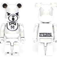 HYSTERIC BEAR CHROME ベアブリック (BE@RBRICK)