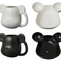 ベアブリック (BE@RBRICK) MUG & TRAY MAT COLOR [情報]
