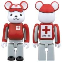 日本赤十字社 CroKuma 救護服 Ver ベアブリック (BE@RBRICK) [情報]
