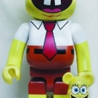 スポンジボブ(Sponge Bob) 1000% ベアブリック(BE@RBRICK)[情報]