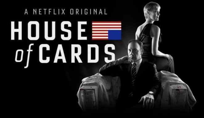 Seriados para homem - House of Cards