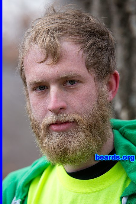 Conner with his powerful beard
