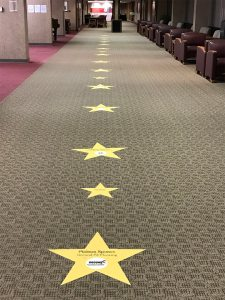 Sponsor Star Floor Graphics for Carbondale Chamber of Commerce Banquet