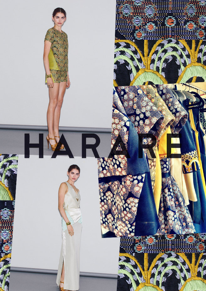 Sustainable Line Harare Debuts at NY Fashion Week
