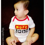 3rd Felt Project – MUFC Baby Romper
