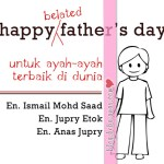 Happy (belated) Father's Day..