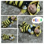 Azri; My cute little bumblebee