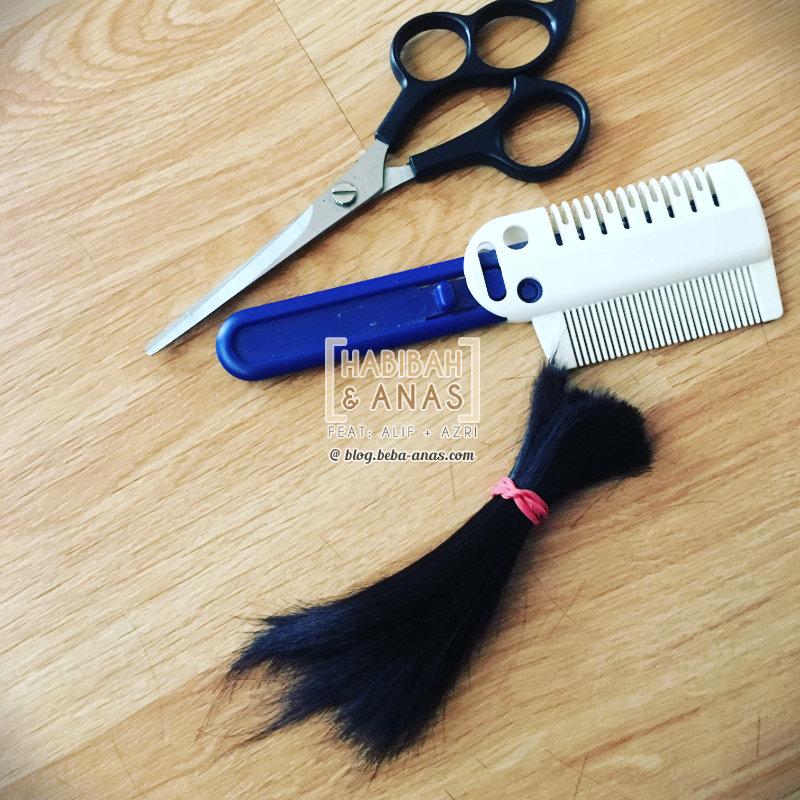 azri-potong-rambut