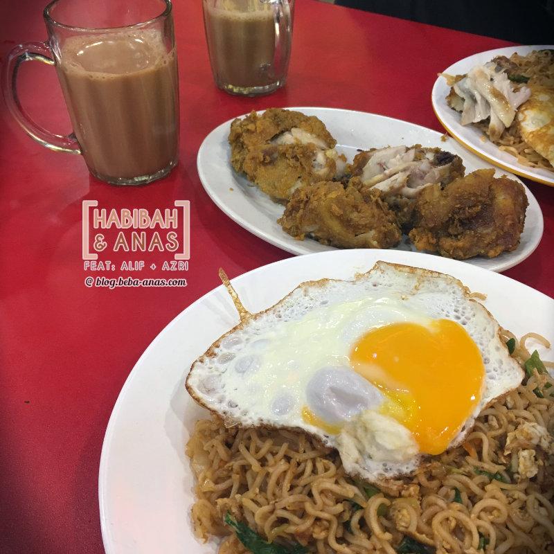 raya2017- maggi goreng telur mata