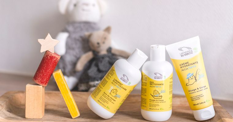 Alga Natis® Une gamme complète pour prendre soin de votre bébé