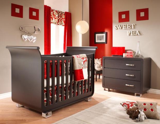Color rojo en decoracion infantil y juvenil