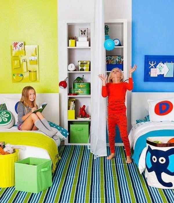 Decorar una habitación para niño y niña