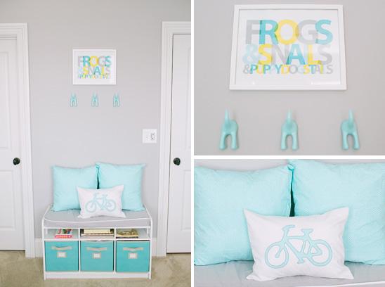 habitacion de bebe en color azul 6