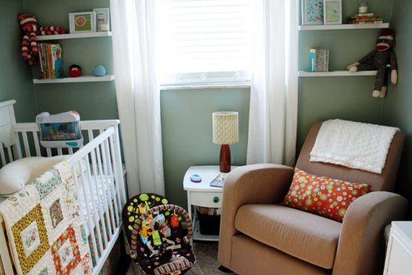 Como decorar un dormitorio pequeño de bebe