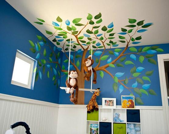 Elementos decorativos de pared para habitaciones infantiles