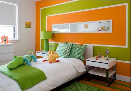 decoración infantil en verde 6