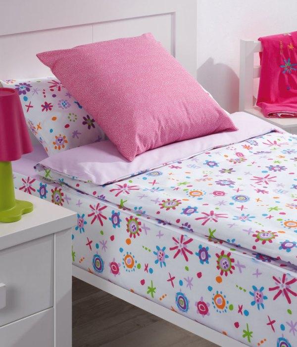 Decorar habitaciones infantiles con flores