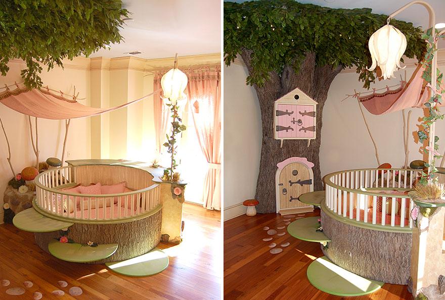 Una habitacion infantil de cuento