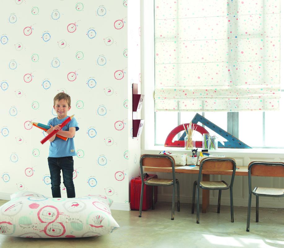 Papel pintado infantil y juvenil