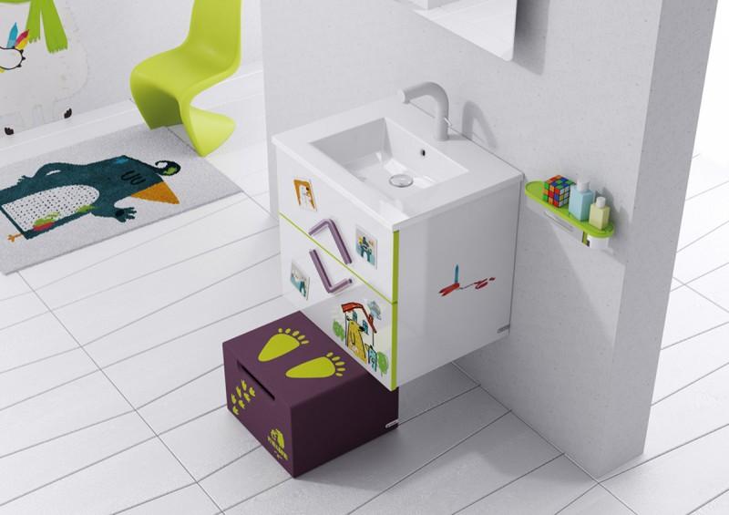 decorar el cuarto de baño para niños 10 - Blog Bebe y Decoración