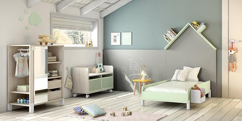 Decora la habitación de tu bebé  de manera sostenible