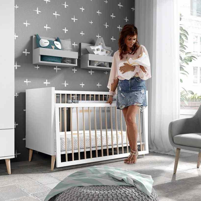 La mejor cama para un bebé es la cuna Metrópoli