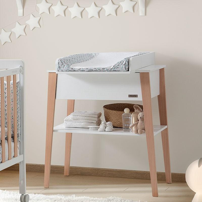El mueble infantil Nórdica Micuna es una de la mejores cómodas infantiles.