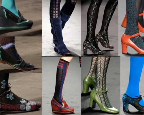 Anna Sui. Shoes. Mercedes Benz Fashion Week New York. Fall-Winter 2013-2014