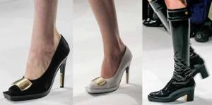 Calvin Klein. Shoes. Mercedes Benz Fashion Week New York. Fall-Winter 2013-2014