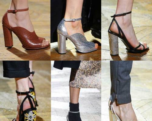 Dries Van Noten | Paris Fashion Week | Fall-Winter 2013-2014 | Shoes. Calzado